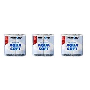 319wxrgeMOL. SS300  - Thetford Aqua Soft Toilet Rolls Bulk Pack x 3