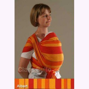 Storchenwiege Woven Cotton Baby Carrier Wrap (4.6, Albert) by Storchenwiege fdc8525d8a1