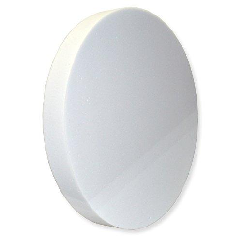 50 Ist Der Kreis (Kreis aus BASOTECT® weiß Ø 50cm x 4cm)