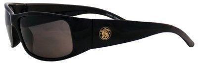 Kimberly-Clark 21303Smith und Wesson Elite Sicherheit Eyewear, Rahmen schwarz, rauch Anti-Fog Objektiv (12Stück)