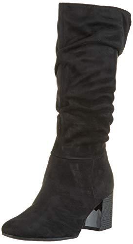 Tamaris Damen 1-1-25517-23 Hohe Stiefel, Schwarz (Black 1), 38 EU