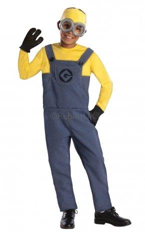Kostüm Uk Me Minion Despicable (Kinder Jungen Despicable Me Minion Dave Kostüm für Fancy Kleid UK 5–6Jahre Höhe: 116cm Brust: 57.5cm Taille:)