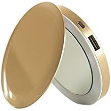 Pearl espejo batería de emergencia para Smartphone 3000 mAh dorado