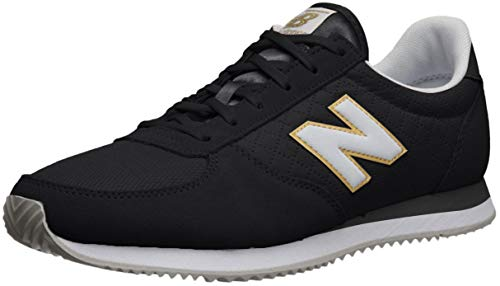 New Balance 220, Zapatillas para Mujer, Negro (Black/White Tpb), 43 EU