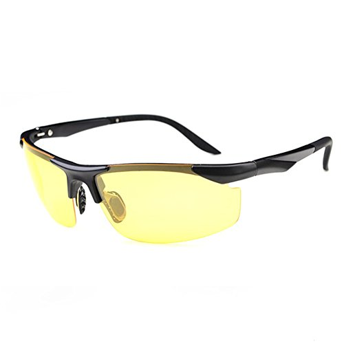 8ddb228a74 Z-P Fashion TR90 Memory-metal Frame Men s Sports Style Bicycle Driving  Night Vision Polarized Night