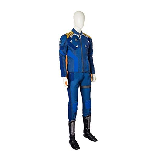 nihiug Star Trek Captain Kirk Cosplay Kostüm für Herren Cosplay Kostüm für - Star Trek 7 Von 9 Kostüm