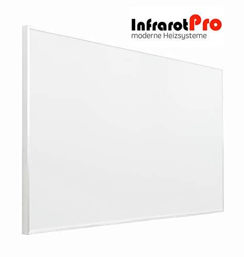 InfrarotPro Infrarotheizung 1200W weiß mit Digitalthermostat 115x100x3cm Made in Germany 15 Jahre GARANTIE (1200W) -