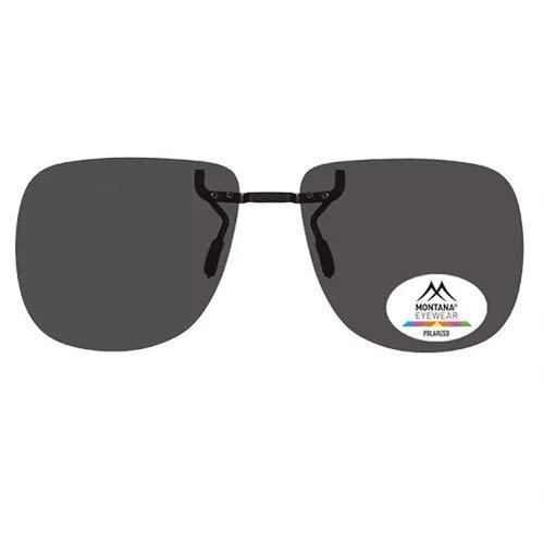 Sonnenbrille, versteckt, zum Anklipsen, Grau