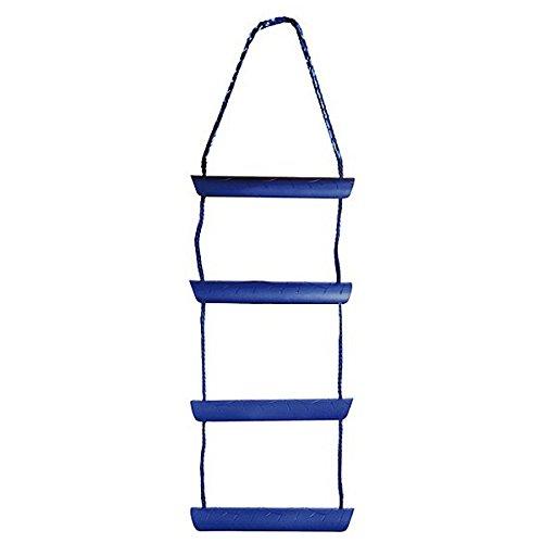 Osculati Nylon Strickleiter - erhältlich mit 3, 4 oder 5 Stufen, Größe:4 Stufen