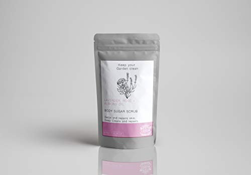 Cougar Beauty Products Sugar & Salt Body Scrubs - Lavender, Rose & Almond Oil