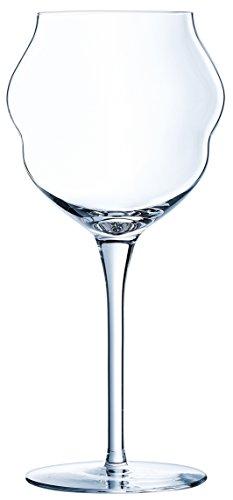 Chef & Sommelier Macaron Verre à vin 400ml, sans repère de remplissage, 6 Pièces