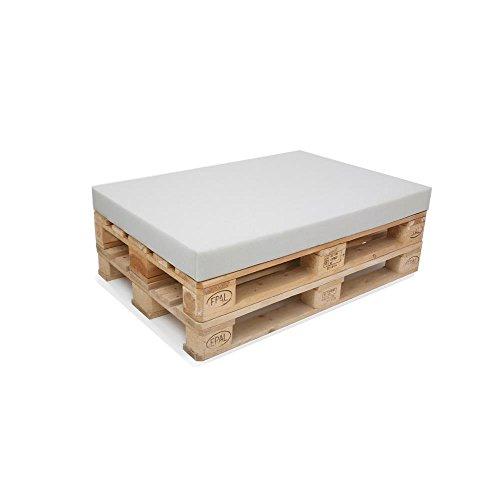 Schaumstoffplatten Dämmung Schlafen Polstern Schaumstoff Schallschutz (80 x 120 x 6 cm Paletten, RG 28 Kg/m³ grau) ohne Palette