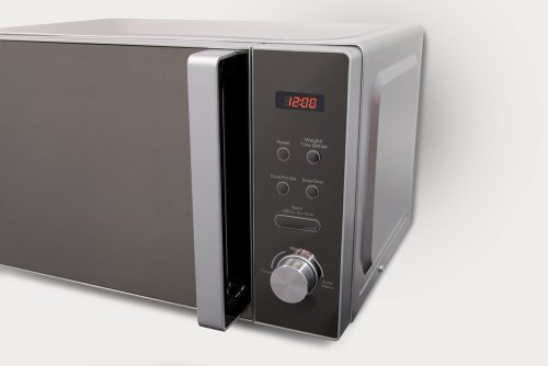Russell Hobbs RHM2076S Turbo Lite Digital 800w Solo Microwave Silver