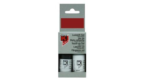 Kwasny Auto-K Lackstift 2-Schicht Lack Stift Original-Farbton Brillantsilber 744 9 ml