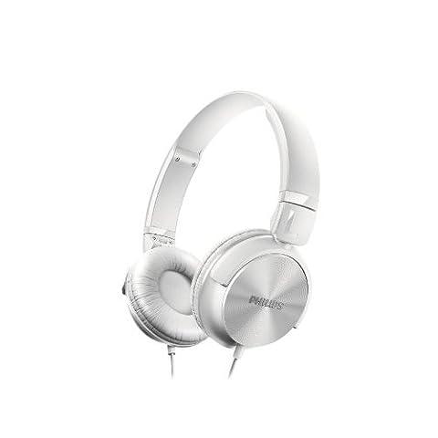 Philips SHL3060WT/00 Kopfhörer (32 mm Neodym-Treiber, DJ-Monitoring)