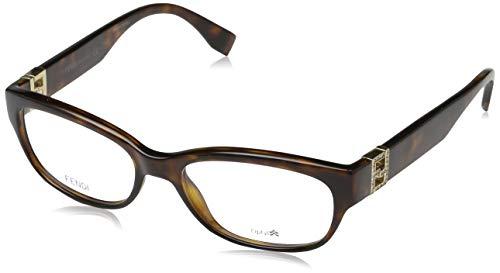Fendi Damen FF 0048 EDJ/17-52-17-130 Brillengestelle, Braun, 52