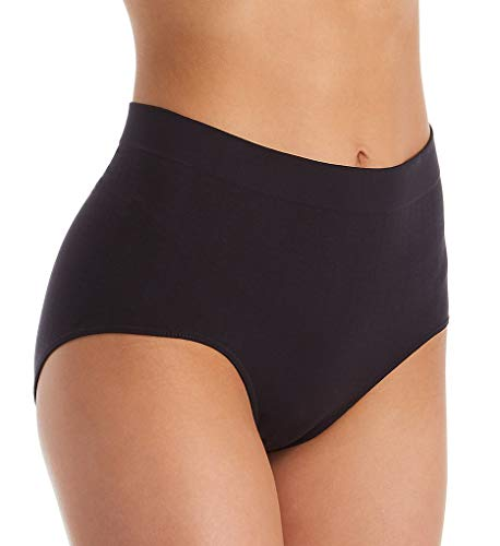 Bali Damen One Smooth U All-Around Smoothing Briefs Panty Unterhose, Black Pointelle, 34 (Panties Briefs Bali)