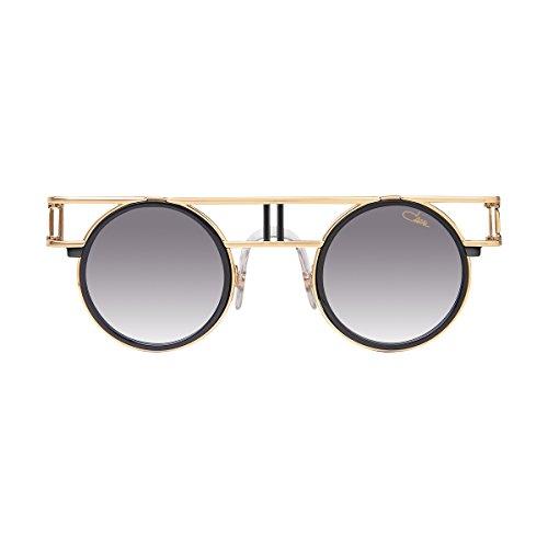 05aec5d075d68 Cazal Sunglasses Legends 668 001 Black Gold Grey Gradient 100% Authentic