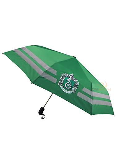Paraguas Slytherin, 112 cm. Harry Potter