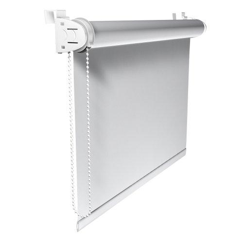 Victoria m tenda a rullo oscurante klemmfix, montabile senza fori, 70 x 230 cm, bianco