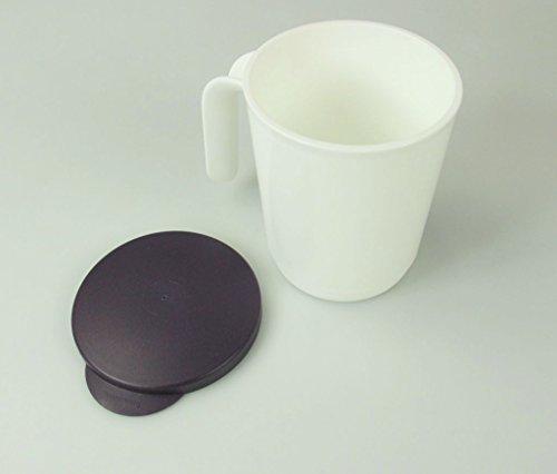 TUPPERWARE allegra gobelet avec couvercle et gobelet anse (1)-mug 300 ml/violet/blanc)