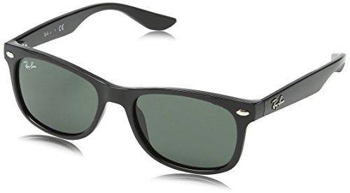 Ray Ban Unisex Sonnenbrille RJ9052S, Gr. Medium (Herstellergröße: 48), Schwarz (Gestell: Schwarz, Gläser: Grün Klassisch 100/71)