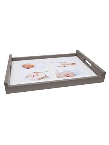 Deknudt Frames Geschenke und Gadgets Holz, Taupe, 42x 32x 5,5cm