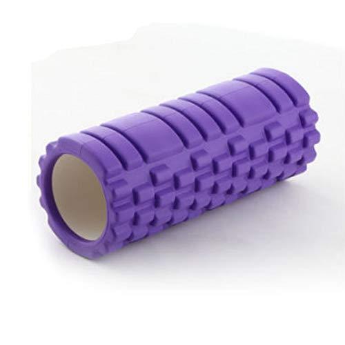 Chinashow Yoga Column Foam Shaft Hohl High Density Yoga Column Selbstmassage-Tool für Fitnessstudio Ideal für Pilates-Übungsroller, Lila