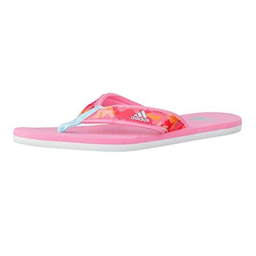 adidas Kinder-Unisex Beach Thong K Zehentrenner, Rosa (Rossen/Agucla/Rosbas), 38 EU (6 UK)