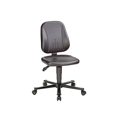 ESD Unitec Arbeitsdrehstuhl, Kunstleder, Höhenverstellung 440-590 mm - Universalstühle Büroeinrichtungen Bürostühle Drehstühle Schreibtischstühle Bürodrehstühle Bandscheibendrehstühle