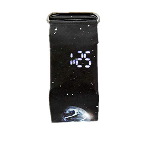 ZWFUN Paper Watch | 2018 Hot Sale | Damenuhr Digitalanzeige | Kreativ Papier Armbänder | LED Wasserdichte Uhr | Tyvek Papier Strap | Digitale Uhren | Dekoration (F)