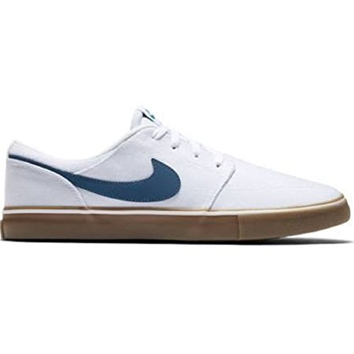 Nike SB Portmore II Solar White/Industrial Blue/Gum Lt Brown White/Industrial Blue/Gum Lt Brown