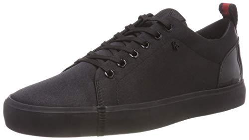 Armani Exchange Damen Low-Top Sneaker, Schwarz (Black 00002), EU: 35M