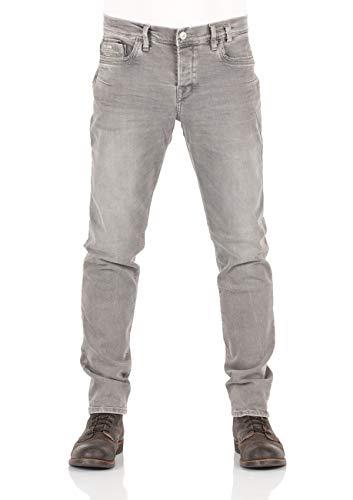 LTB Jeans Herren SERVANDO X D Tapered Fit Jeans , Grau (Lori Wash 51861) , W29/L34 (29x34 Herren Bootcut Jeans)