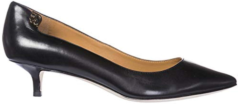 Tory Burch Escarpins Chaussures Femme à Cuir Talon en Cuir à Elizabeth NoirB078SZY5L8Parent 0ee655