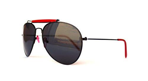 Vintage Sonnenbrille im angesagten 60er retro neue Kollektion unisex Pilotenbrille mit Steg