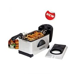 Salute Warriors Shinestar DEEP FRYER Touch the perfection || Generous 2 Ltr capacity || Adjustable Thermostat || Easy holding with side handles || Removable oil container