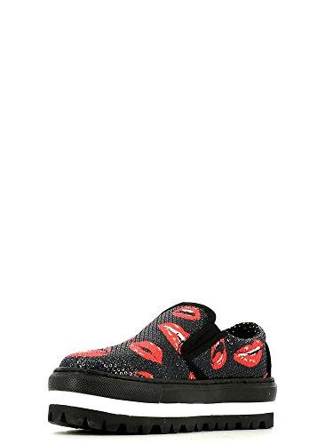 Fornarina PIFXR8911WJA Shera Sneaker, Donna Red Lips A2