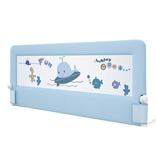Bettgitter Bettgitter für Babys, unterstützt vertikales Heben, klappbares Sicherheitsbett Guard, Swing Down Bedrail Safe Sleep für Cabrio Kinderbett, Kids Twin, Doppelbett - Cabrio Kinderbett