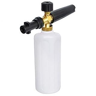AutoCare Professional Adjustable Foam Cannon Gun Pressure Car Snow Foamer Washer Lance Adapter For Karcher