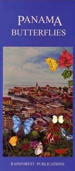 Panama Butterfly Guide (Laminated Foldout Pocket Field Guide) (English and Spanish Edition)