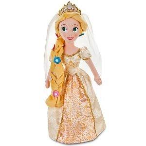 Disney Raiponce peluche --- mariage, jeune mariée poupée -- 24'' H