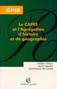 Le Capes et l'agrégation d'histoire et de géographie