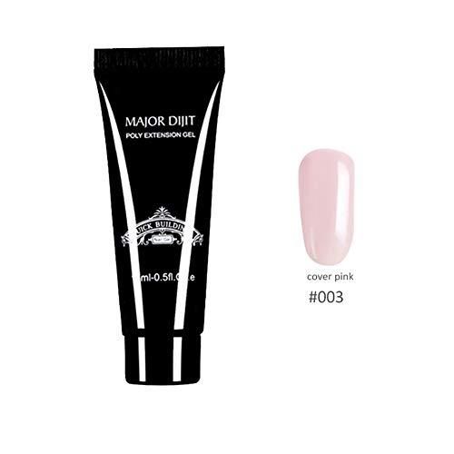 Symeas Nail Phototherapy Colle Séchage Rapide Couleur Gel Vernis À Ongles Nail Art Outils Glue Clear Gel UV Nail Builder Extension Builder Nail Art Manucure Kit