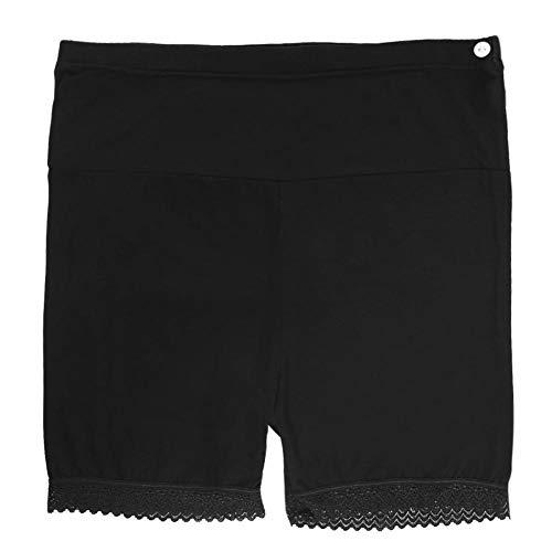 Full Panel Mutterschaft Hose (Hztyyier Mutterschaft Shorts Frauen Sommer Schwangerschaft Shorts Hosen Mama Quick Dry Full Panel Sicherheit Kurze Leggings Stretch Wear(Black-L))