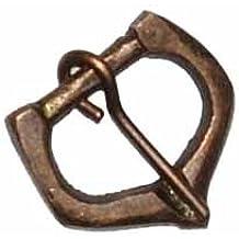 Hebilla de Bronce para Casco y Correas de Armadura, Accesorios medievales para cinturón