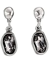 7e7dc081edfc Uno De 50 Mujer chapado en plata gris cristal