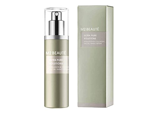 M2 Beaute Ultra Pure Solution Hyaluron & Collagen Facial Nano Spray Gesichtsspray 20ml
