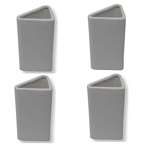BIG-SAM - Humidificador - Vaporizador para radiador con suspensión de cerámica en color blanco, Blanco