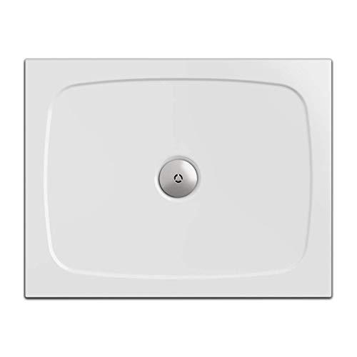Duschwanne/Duschtasse Nordona® SIMPLEX, rechteckig 70 x 90 cm | Flache Aufbau-Höhe: 3 cm | Kompatibel mit Nordona® VersoFlat Ablauf